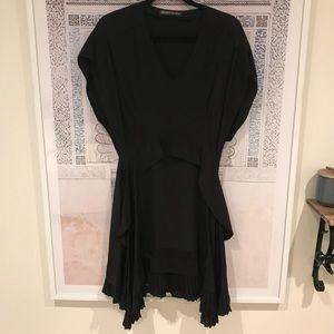 Balenciaga. Silk little black dress - 40/M